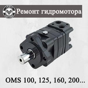 Ремонт гидромотора OMS 100, 125, 160, 200, 250 Danfoss (Дания)
