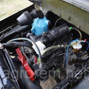 Двигатель дизельный мтз д-240 на зил-130 (переоборудованный)
