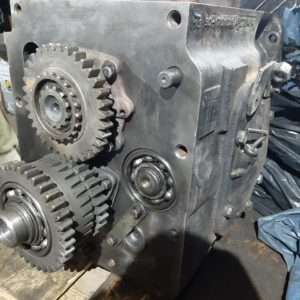 Коробка переключения передач КПП МТЗ-82 нового образца (боковое управление)