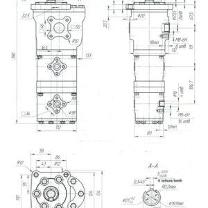 Насос шестеренный НШ 32-16-16Д-3 / НШ 32-16-16Д-3Л