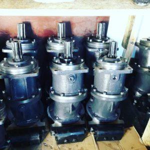 Насос-мотор 1МН 250/100 (без клапанной коробки)