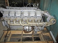 Двигатель дизельный ямз-240нм (240нм2-100018) 500л.с