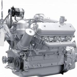 Дизельный двигатель ямз 236 дк